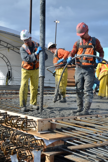 beton işçisi